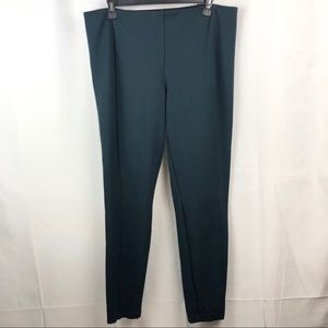 RACHEL ZOE Green Size 14 Tummy Control Leggings